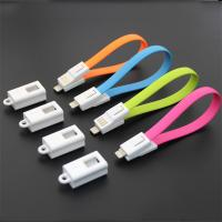 Key chain Apple Lightning to USB Cable 20cm length, usb cable for apple iphone 6 plus Manufactures