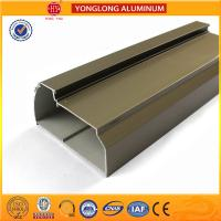 Eletrophoresis Aluminum Window Profiles Matte , Flat , Smooth And Shining Manufactures