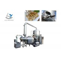 China Snacks Vacuum Frying Machine Electric Power Continuously Oil Filtration on sale