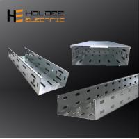 China Low Voltage Good Price Mild Steel Q235 Small Straight Ventilated Or Perforated Trough Cable Tray With Accessories on sale