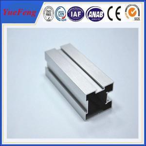 Hot! Matte anodizing aluminum extrusion profiles sliding door, anodized 6000 series alu Manufactures
