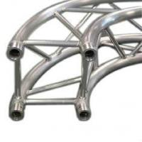 Quality Silver Aluminum Circle Truss / Star Arch Truss For Lighting for sale