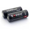 Buy cheap Soshine LiFePO4 26650 Protected Battery: 3200mAh 3.2V from wholesalers