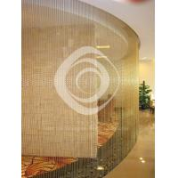 shimmer screen metal bead curtain/stainless steel curtain Manufactures
