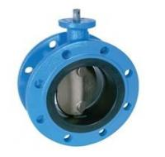 "cast iron 2"" ~ 120"" Butterfly Valves For Sewage DIN2501 PN10 EN 593 Manufactures"