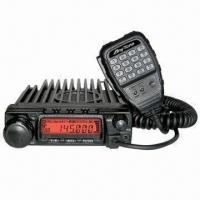 In-vehicle Transceiver with 60W VHF/40W UHF/25/10W Output Power, 200-channel and CTCSS/DCS Scan Manufactures