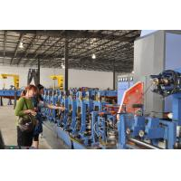 Low Alloy Tube Forming Machine For Square Tube Production 100 m / min Manufactures