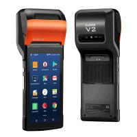 Android 7.1 Rugged PDA Handheld POS Printer 58mm Terminal Sunmi V2 PDA With  Camera Manufactures