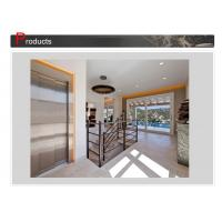 China Load 250~400kg Low Noise Durable Cheap Small Panoramic Gass Home Lift Elevator on sale