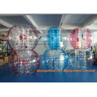 Customized Double Inflatable Human Bubble Ball For Leisure Centre , Park Manufactures