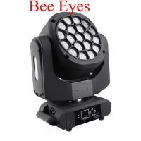 Beam Wash LED 19 X 15W Bee Eyes 4 In 1 Moving Head With Zoom For Show