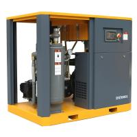 55kw/75hp Lubricated Lubrication Style and Used Condition Rotary screw air compressor 145psi Manufactures
