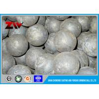 HRC 60-68 Hot rolling steel ball mill balls for minings and cement plant Manufactures