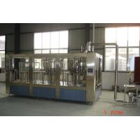 Quality Fully Automatic Juice Filling Machine With Mitsubishi / Siemens PLC Controller for sale