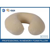 Pillow for Sleeping U Shape Neck Support Travel Pillow Memory Foam Support Pillow Manufactures