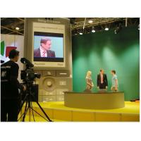 TV Studio P4 Indoor LED Signs Display Screen Stage Video Wall For Live Broadcast Manufactures