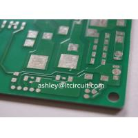 Aluminum Based Heavy Copper Printed Circuit Board Green Solder Hight Thermal Conductivity Manufactures