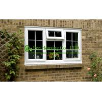 French Upvc Casement Windows For Condos, Grill designs and Top hung Vinyl window Manufactures