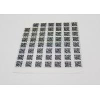 Anti - Counterfeiting Laser Sticker Paper Heat Sensitive With Gradient Effect Manufactures