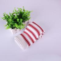 Home Textile  Azo - Free Strip Dish Towels 40*40cm , Red And White Color Manufactures