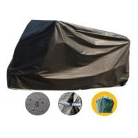 Black Waterproof Motorbike Cover Outdoor For Protection 210*55*102cm Manufactures