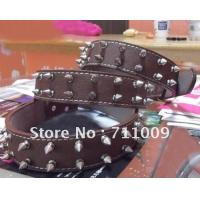 Rhinestones Death's-head Dog Collar GCDC-052BCB Manufactures