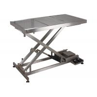 SUS 304 Veterinary Surgery Table For Pets , Electrical Veterinary Lift Table Manufactures