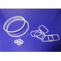 O Shaped Silicone Rubber Gasket Non Standard Weak Acid And Alkali Resistance Manufactures