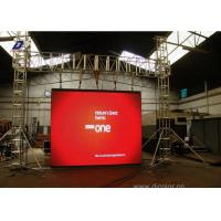 High Pixel Pitch Curved Electronic Outdoor LED Video Display Advertising Boards Manufactures