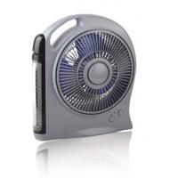Various Function Automotive Cooling Fans With LED Light , Rechargeable Battery Fan Manufactures