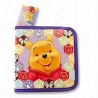 CD Holder/Bag/Wallet/Disc Carry Case, Available in Size of 16 x 16cm, Customized Designs are Welcome Manufactures