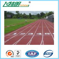 Exercise Recycled Outdoor Synthetic Rubber Flooring  Permeable Jogging Track Material Manufactures
