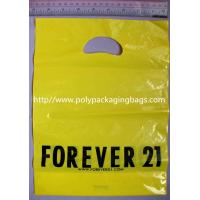 Pink Printed Garment Packaging Poly Bags Customizable Shopping Bags Manufactures