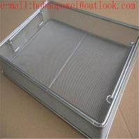 304 wire mesh medical basket/Sterilization Wire Mesh Trays Baskets/perforated wire mesh medical baskets Manufactures