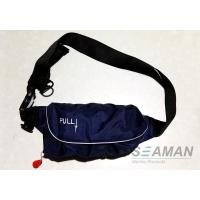Marine Inflatable Life Jackets 150N Auto / Manual Start Navy Blue Inflatable Waist Belt Manufactures