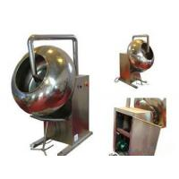 150 Kg / H Capacity Heating Pill Tablet Coating Machine For Food  / Candy Industry Manufactures