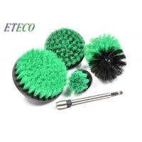 Electric House Keeping Drill Scrub Brush Green Filament Hard Bristle Manufactures