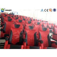 Quality Electric Motion 4DM Cinema System Movie Theater System With Black Red Seats for sale