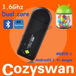 BEST MK809 II mini pc Bluetooth HDMI Dongle android 4.1 mini pc mk809 ii Manufactures