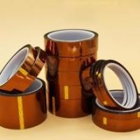 high heat electrical pi tape Silicone Adhesive Polyimide For Electric Task or Solderingkapton film tape Manufactures