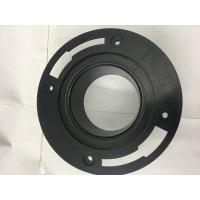 China Plastic Toilet Seal Flange , Toilet Drain Flange Circular Shaped For Drain Waste Vent on sale