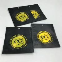 Three Side Sealed  Zip Lock Bags Resealable Aluminum Foil For Chemical Research Powder Manufactures