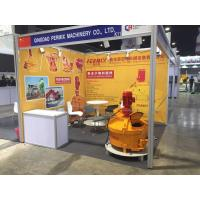 China Glass Raw Material Refractory Mixer Machine Concrete Speed Mixer Wear Resistant on sale