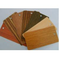 Heat Transfer Wood Grain Powder Coating, SGS Sublimation Coating For Metal Manufactures