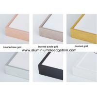 China Colored Metal Picture Frame Mouldings In Lengths For Canvas / Oil Painting on sale