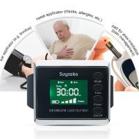 Semaiconductor Pain Relief Low Level Laser Therapy Wrist Watch Home Elderly Diabetes Manufactures