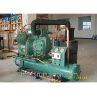 Cold Store Water Cooled Bitzer 2CES-3Y Compressor Refrigeration Condensing Manufactures