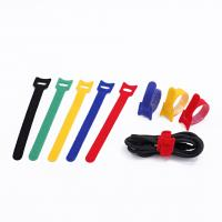 China Special Viscous Double Sided Cable Tie , Colorful Back To Back Hook & Loop Cable Ties on sale