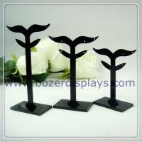 China Acrylic Earring Display Stand Jewelry Display Stands With OEM Pattern on sale
