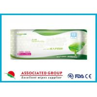 Ultra Large Soft Adult Wet Wipes With Aloe Vera Hypoallergenic Unsented 40 Sheets